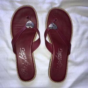 Red Brighton Flip Flops